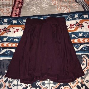 Urban Outfitters Maroon Skirt